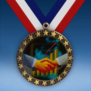 Sales 20 Star Medal-0