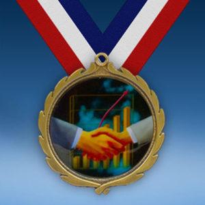 Sales Wreath Medal-0