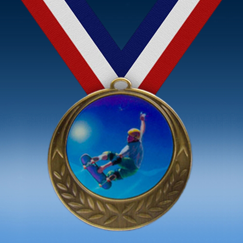 Skateboarding Laurel Wreath Medal-0