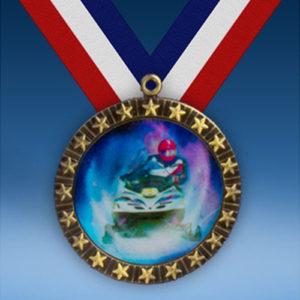 Snowmobile 20 Star Medal-0