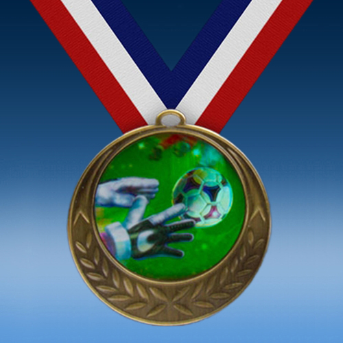 Soccer 3 Laurel Wreath Medal-0