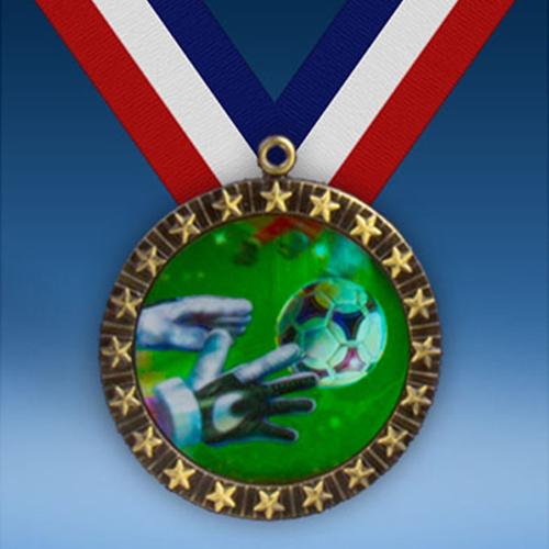 Soccer 3 20 Star Medal-0