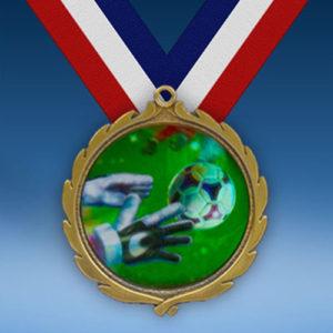Soccer 3 Wreath Medal-0