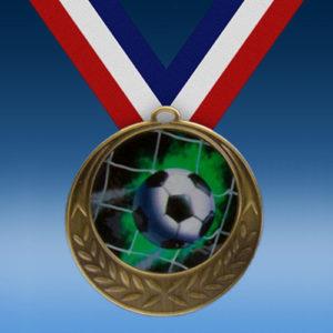 Soccer Laurel Wreath Medal-0