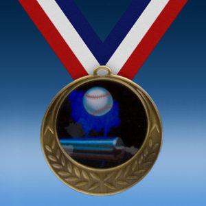 Softball Laurel Wreath Medal-0