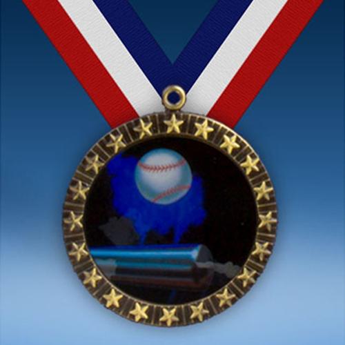 Softball 20 Star Medal-0