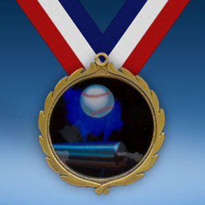 Softball Wreath Medal-0