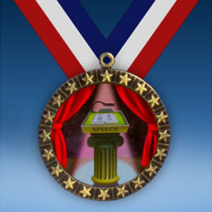 Speech 20 Star Medal-0