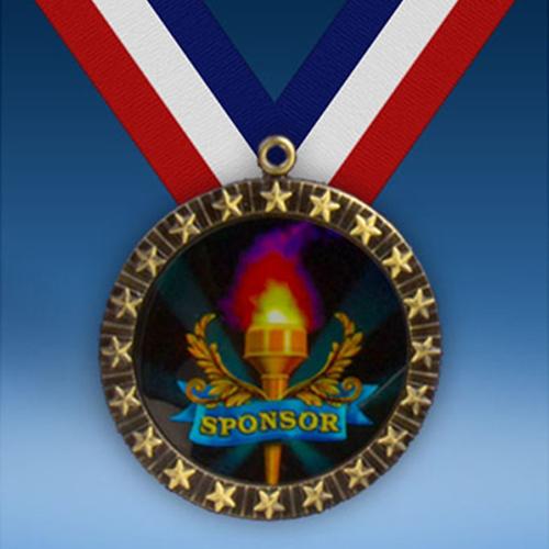 Sponsor 20 Star Medal-0