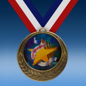 Sportsmanship Laurel Wreath Medal-0