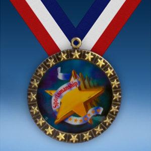 Sportsmanship 20 Star Medal-0