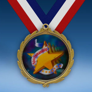 Sportsmanship Wreath Medal-0