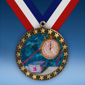 Swimming 20 Star Medal-0