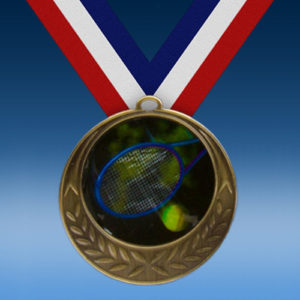 Tennis Laurel Wreath Medal-0
