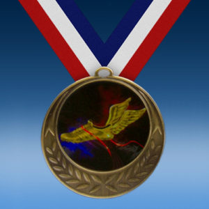 Track Laurel Wreath Medal-0