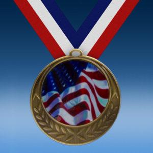 USA Laurel Wreath Medal-0