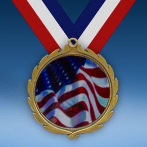 USA Wreath Medal-0