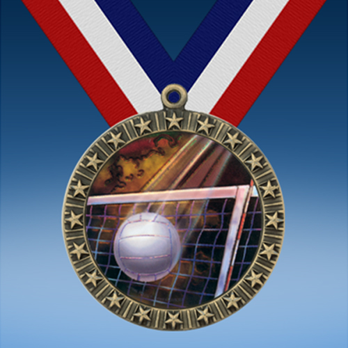 Volleyball 20 Star Medal-0