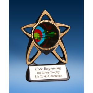 Archery Gold Star Mylar Holder