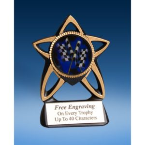 Derby Gold Star Mylar Holder