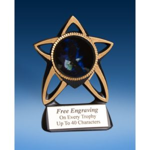 Eagle Gold Star Mylar Holder