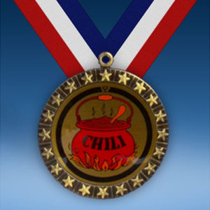 Chili 20 Star Medal-0