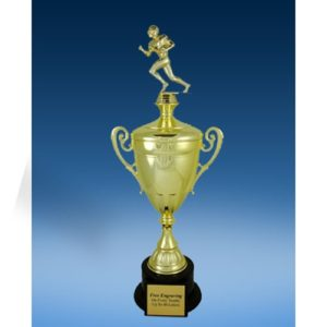Football Sport Figure Gold Cup