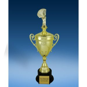 Poker Sport Figure Gold Cup