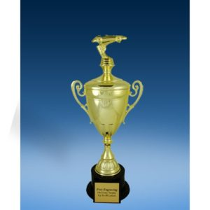 Racing Sport Figure Gold Cup