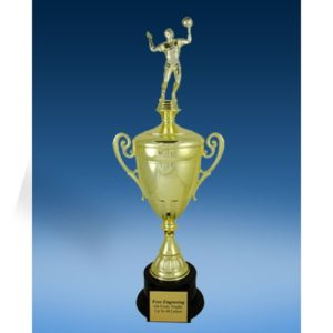 Volleyball Sport Figure Gold Cup