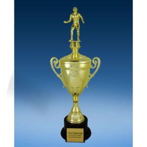 Wrestling Sport Figure Gold Cup