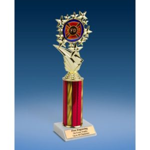 Fire Department Sports Starz Trophy 10""