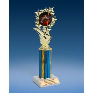 Football 1 Sports Starz Trophy 10""