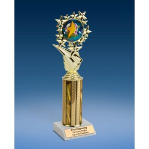 Most Improved Sports Starz Trophy 10""
