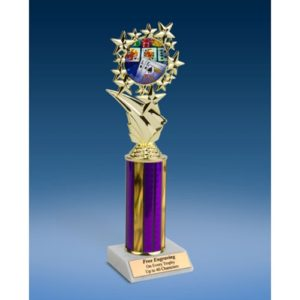 Poker Sports Starz Trophy 10""