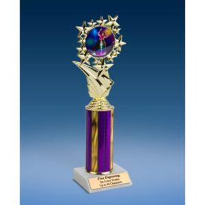 "Rodeo Clown Sports Starz Trophy 10"""