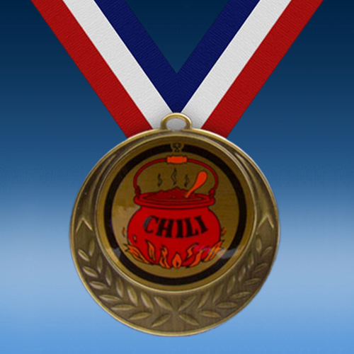 Chili Laurel Wreath Medal-0