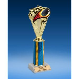 Hockey Sport Flame Trophy 10""