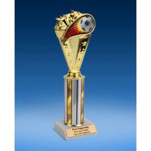 "Soccer Sport Flame Trophy 10"""