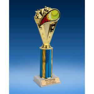 "Softball Sport Flame Trophy 10"""