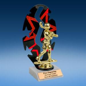 Lacrosse Sport Figure Backdrop Trophy-0