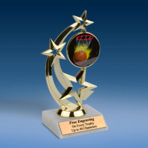 Basketball Astro Spinner Trophy-0