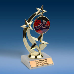Beauty Pageant Astro Spinner Trophy-0