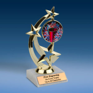 Cheerleading Astro Spinner Trophy-0