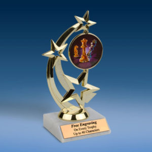 Chess Astro Spinner Trophy-0