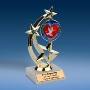 Cupid Astro Spinner Trophy-0