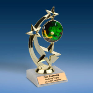Field Hockey Astro Spinner Trophy-0