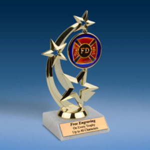 Fire Department Astro Spinner Trophy-0