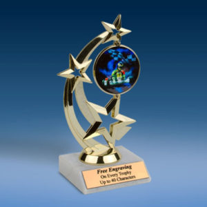 Go Kart Astro Spinner Trophy-0