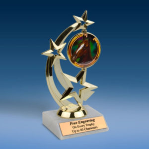 Horse Astro Spinner Trophy-0